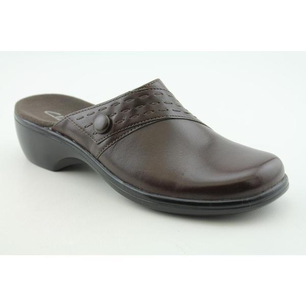 Clarks Women's 'Nan' Leather Casual Shoes