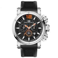Oceanaut Men's Loyal Silicone Bracelet Chronograph Watch