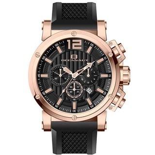 Oceanaut Men's Loyal Black Chronograph Watch