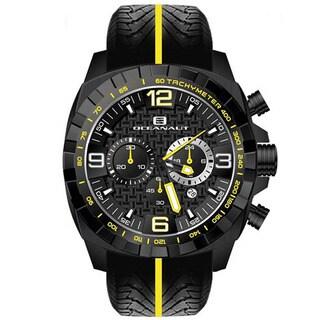 Oceanaut Men's Fair-Play Silicon Bracelet Chronograph Watch