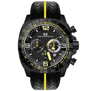 Oceanaut Men's Fair-Play Silicon Bracelet Chronograph Watch