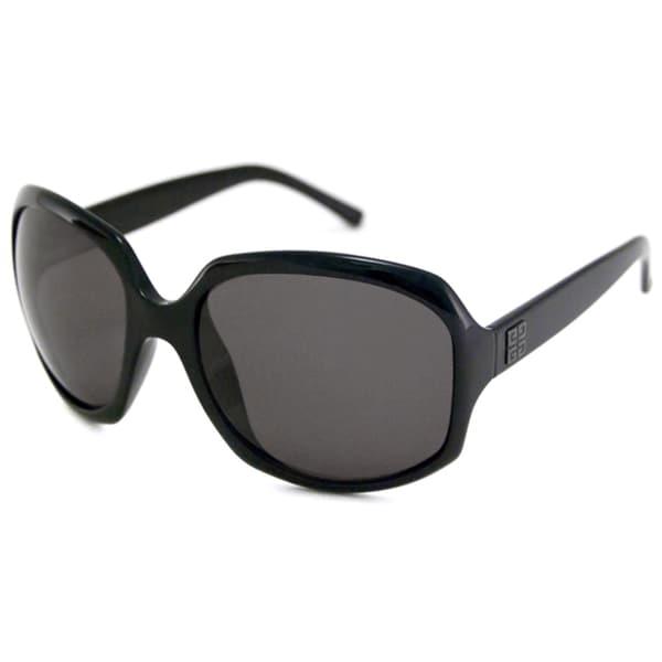 Givenchy Women's SGV765 Polarized/ Rectangular Sunglasses
