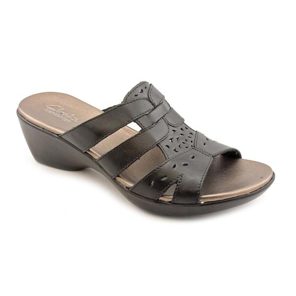 Clarks Women's 'Ella Joe' Leather Sandals