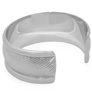 Gioelli Sterling Silver Designer Cuff Bracelet