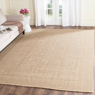 Safavieh Casual Natural Fiber Hand-Woven Loop Sisal Beige Rug (8' Square)