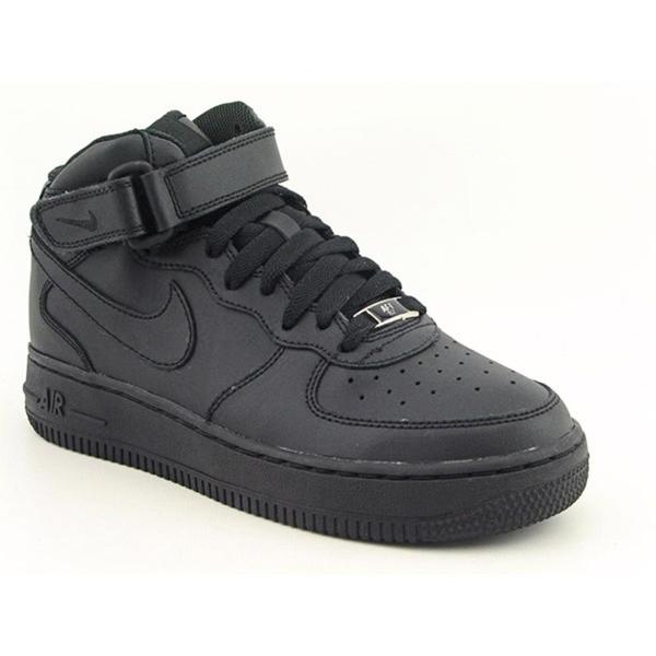 Shop Nike Boys 'Air Force 1 Mid (GS)' Leather Athletic Shoe
