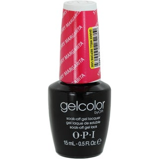 OPI Gelcolor Strawberry Margarita Soak-Off Gel Lacquer