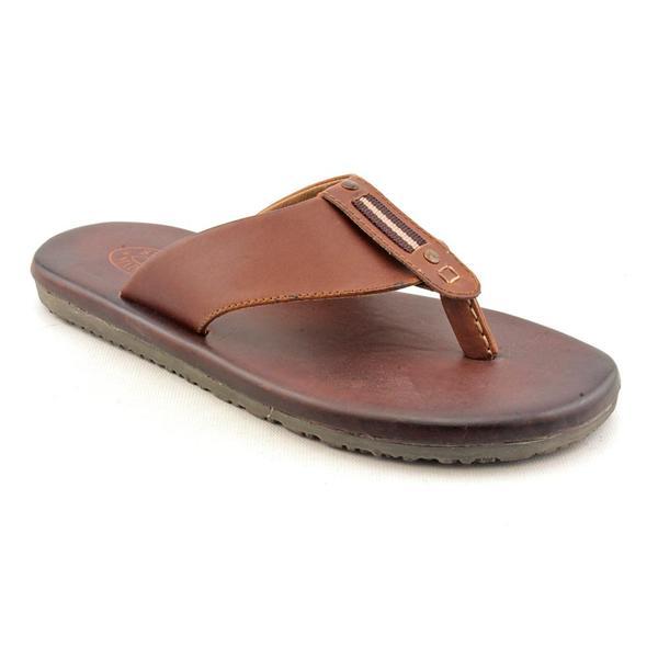 Steve Madden Men's 'Corona' Leather Sandals (Size  7 )