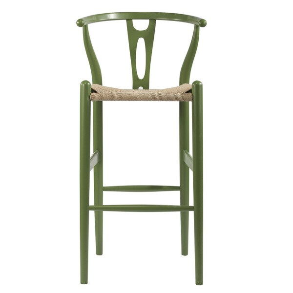 shop mid century 29 bar stool by baxton studio free shipping