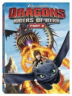 Dragons: Riders of Berk Part 2 (DVD)