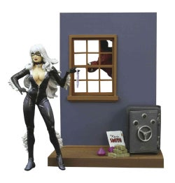 Marvel Select Black Cat: Special Collector Edition Action Figure With Highly Detailed Base (Toy)