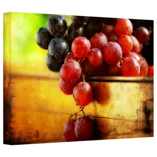 Dragos Dumitrascu 'Autumn Grapes' Gallery-wrapped Canvas