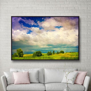 Dragos Dumitrascu 'Mighty Clouds' Gallery-wrapped Canvas Art