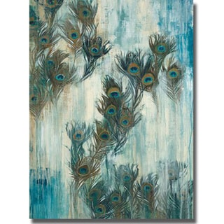 Liz Jardine 'Proud as a Peacock' Canvas Art