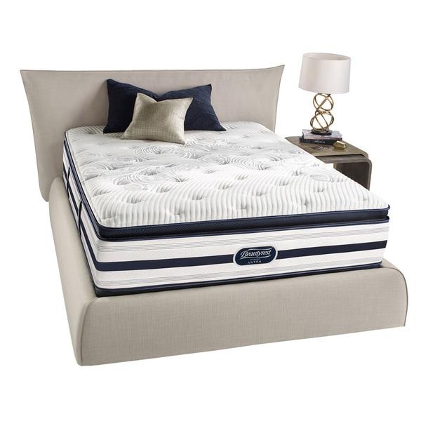 ecd104aeb0976 Simmons Beautyrest Recharge Reynaldo Luxury Firm Pillow Top Queen-size  Mattress Set