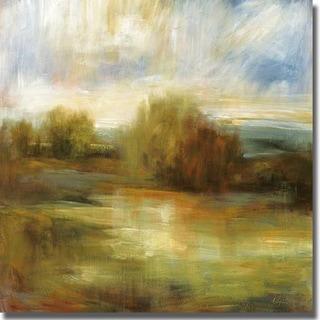 Simon Addyman 'Johns Field' Canvas Art