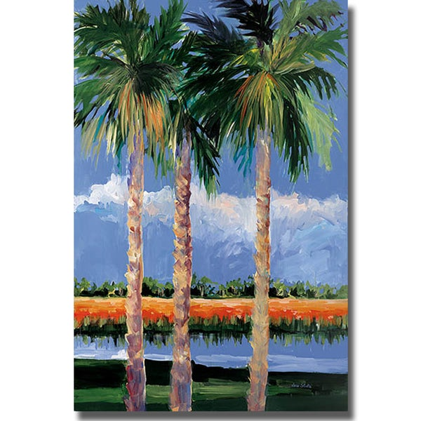 Jane slivka 39 palm coast 39 canvas art free shipping today overstock 15405548 Home goods palm beach gardens