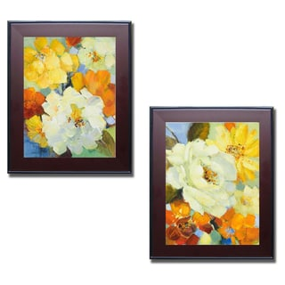 Lanie Loreth 'It's a Beautiful Spring I and II' Framed 2-piece Canvas Art Set