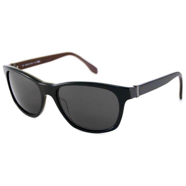 Fendi Men's FS5129 Plastic Rectangular Sunglasses