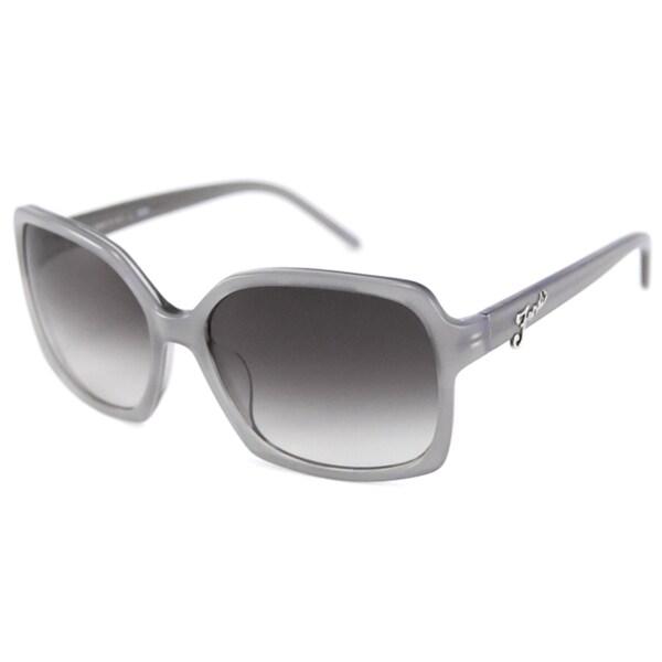 Fendi Women's FS5204 Rectangular Scratch-Resistant Sunglasses