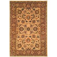 Safavieh Handmade Classic Ivory/ Red Wool Area Rug - 7'6 x 9'6