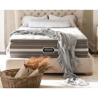 beautyrest recharge world class sea glen plush super pillow top queensize mattress set
