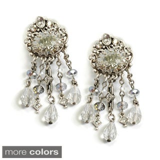 Sweet Romance 1920s Speakeasy Clip-on Earrings