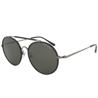 Tom Ford Men's TF0246 Samuele Round Sunglasses