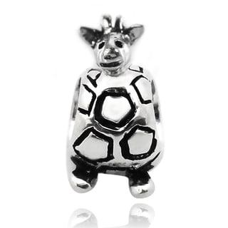 De Buman Sterling Silver Turtle Charm Bead