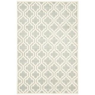 Safavieh Handmade Moroccan Chatham Gray/ Ivory Wool Area Rug (5' x 8')
