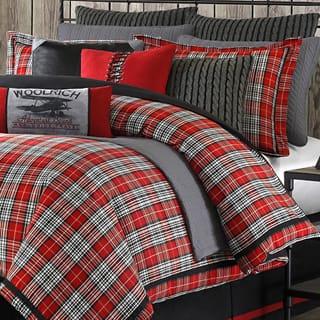 Woolrich 'Williamsport' Plaid 4-piece Comforter Set|https://ak1.ostkcdn.com/images/products/8047473/Woolrich-Williamsport-Plaid-4-piece-Comforter-Set-P15405924L.jpg?impolicy=medium