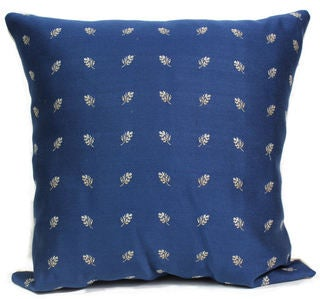 Sutherland Blue Decorative Throw Pillow (16 x 16)