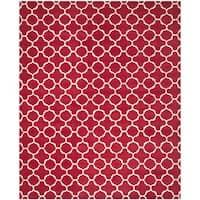 Safavieh Handmade Moroccan Chatham Red/ Ivory Wool Rug - 10' x 14'