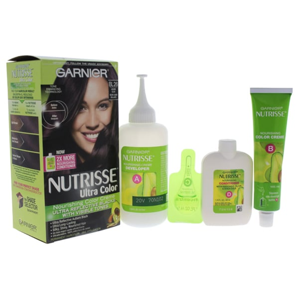 Garnier Nutrisse Ultra Color Bl26 Reflective Auburn Black Hair
