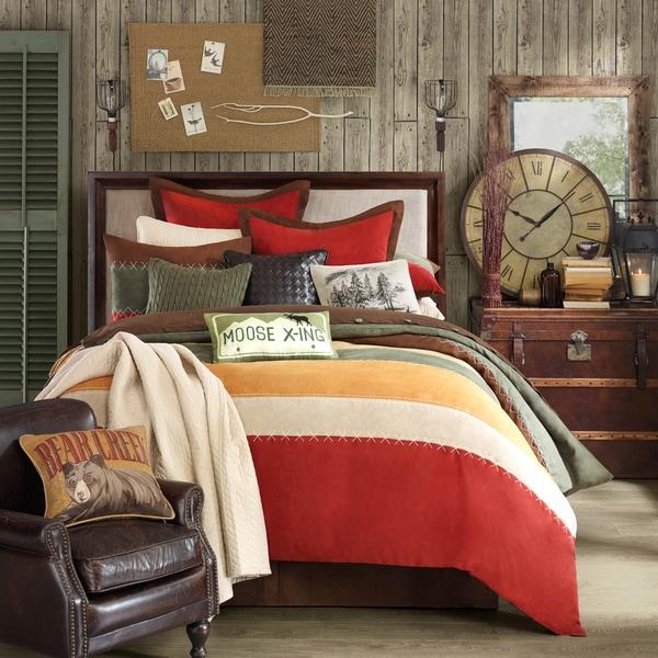 Woolrich 'Bear Creek' Comforter Set - Multi. Opens flyout.