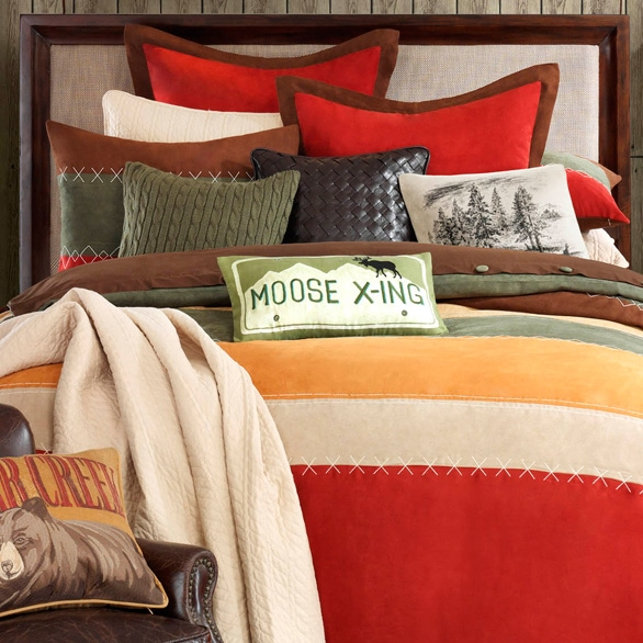 Shop Woolrich Bear Creek Comforter Set Free Shipping