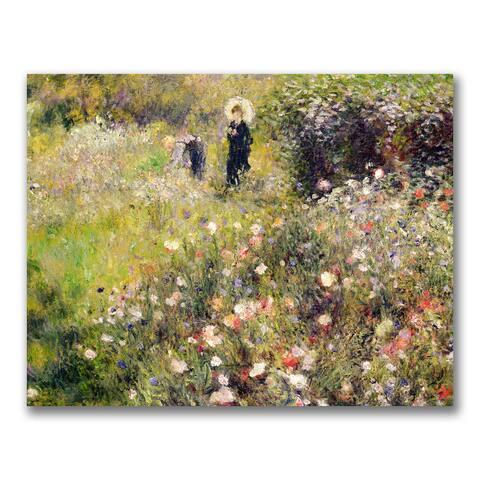 Pierre Renoir 'Summer Landscape' Canvas Art - Multi