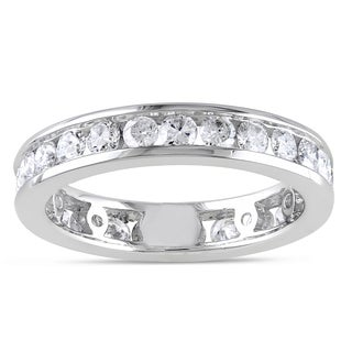 Miadora Signature Collection 14k Gold 2ct TDW Diamond Eternity Ring (G-H, I1-I2)