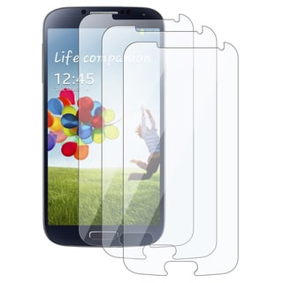 INSTEN Clear Screen Protectors for Samsung Galaxy S IV/ S4 (Pack Of 3)
