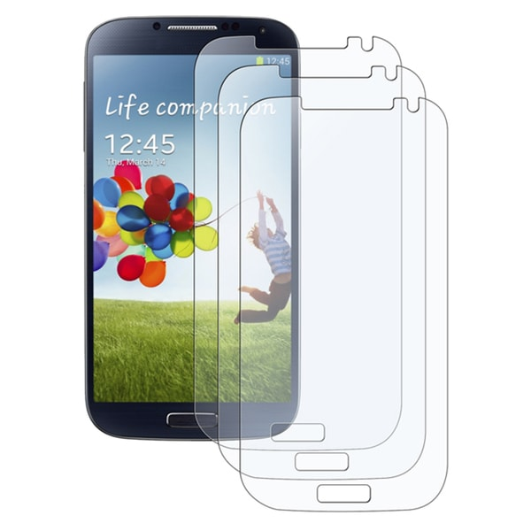 INSTEN Anti-glare Screen Protectors for Samsung Galaxy S IV/ S4 (Pack Of 3)