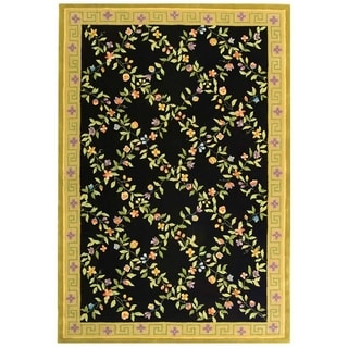 Safavieh Handmade Berkley Multi Wool Area Rug (7' 9 x 9' 9 )