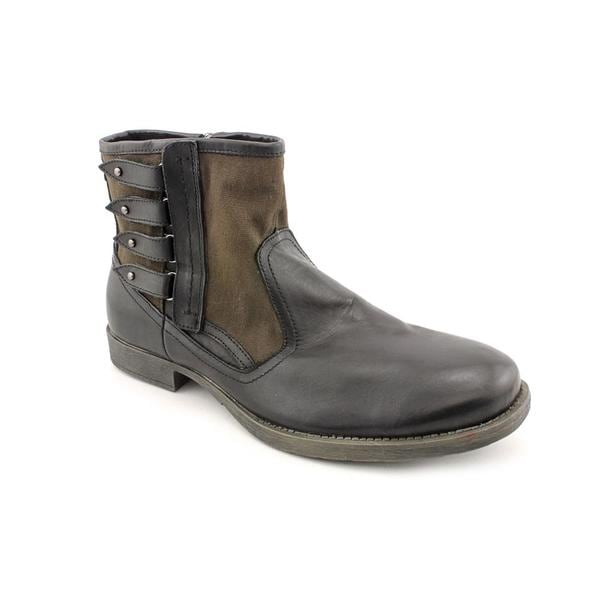 868d8e61c09 Shop Guess Men's 'Camillo' Leather Boots (Size 11 ) - Free Shipping ...
