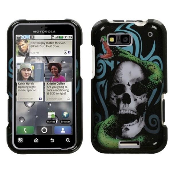 INSTEN Tribal Snake Phone Case Cover for Motorola MB525 Defy