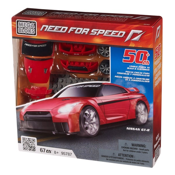 Mega Bloks Need for Speed Nissan GT-R
