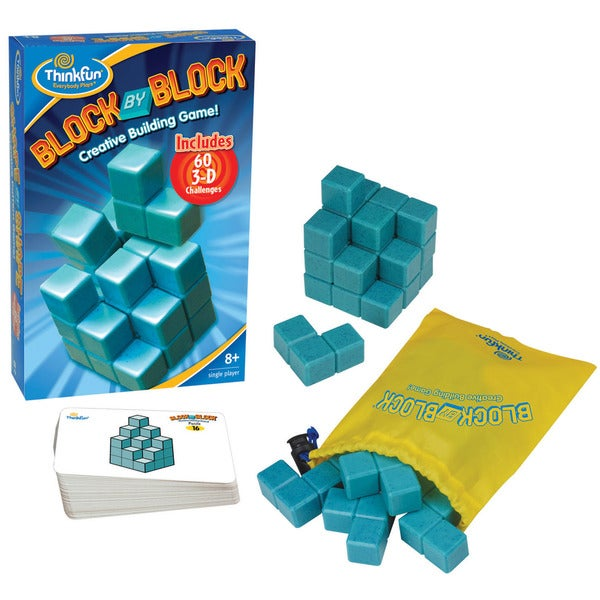 Think Fun Block By Block Puzzle