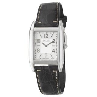 Coach Men's 'Carlyle' Stainless Steel Swiss Quartz Watch