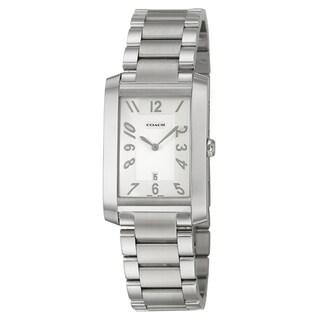 Coach Men's 'Collection' Stainless Steel Swiss Quartz Watch