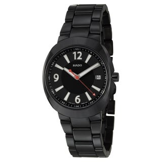 Rado Men's 'D-Star' Ceramic Swiss Quartz Watch
