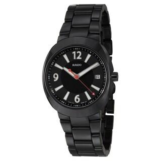 Rado Men's 'D-Star' Ceramic Swiss Quartz Watch