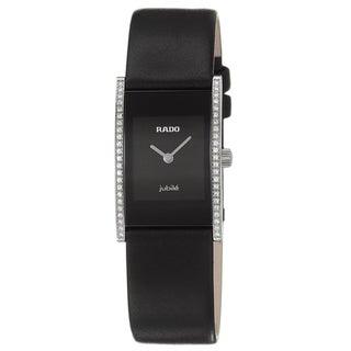 Rado Women's 'Integral' Stainless Steel Swiss Quartz Watch
